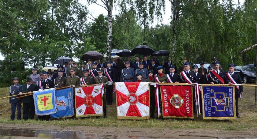 Wydarzenia, Uroczystość Sokołowie Włościańskim - zdjęcie, fotografia