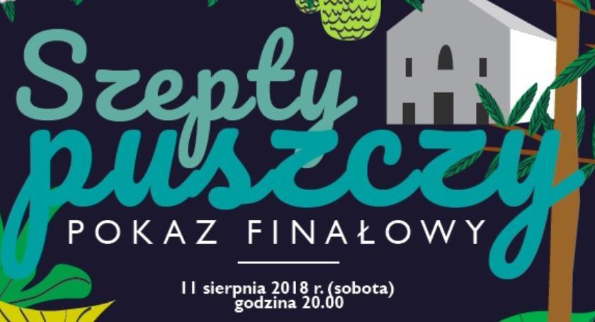 """Zaproszenia, """"Szepty Puszczy"""" spektakl sobotę! - zdjęcie, fotografia"""