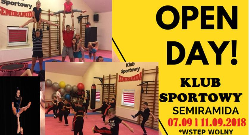 Wydarzenia, otwarte Centrum Sportowym Semiramida - zdjęcie, fotografia