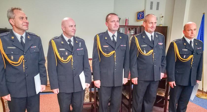 Straż Pożarna, Komendant Maciej Piątek mianowany - zdjęcie, fotografia