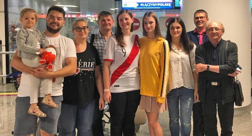 Wydarzenia, Małgorzata Białczak wróciła Polski! - zdjęcie, fotografia