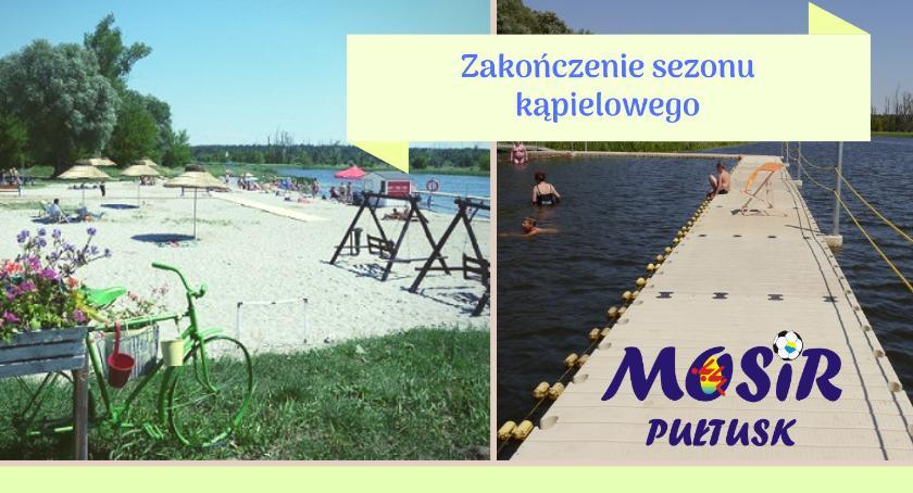Komunikaty, Zakończenie sezonu kąpielowego - zdjęcie, fotografia