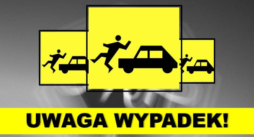 Wypadki drogowe , Śmiertelny wypadek Przemiarowie - zdjęcie, fotografia