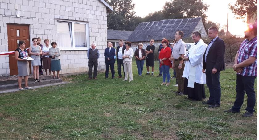 Wydarzenia, Świetlica Smogorzewie otwarta latach - zdjęcie, fotografia