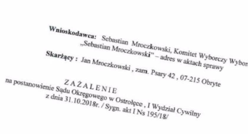 Wybory, Wójt Mroczkowski złożył zażalenie - zdjęcie, fotografia
