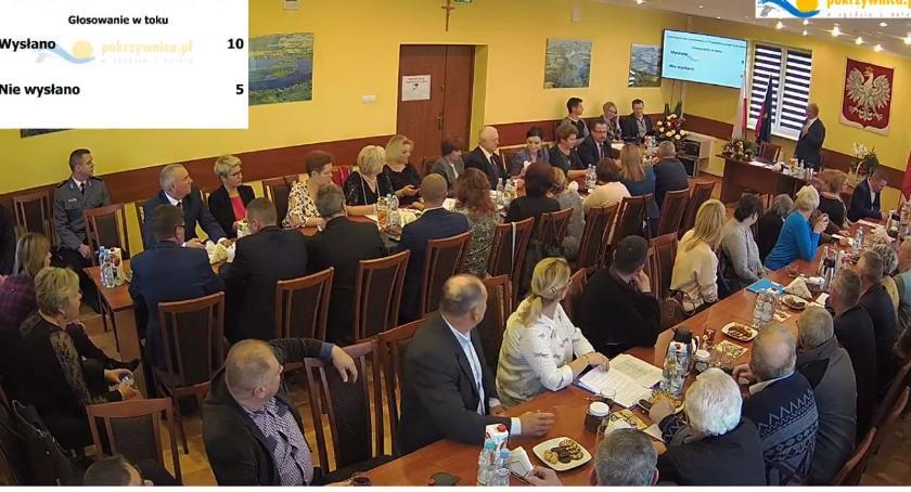 Samorząd, Pierwsza sesja Pokrzywnicy - zdjęcie, fotografia