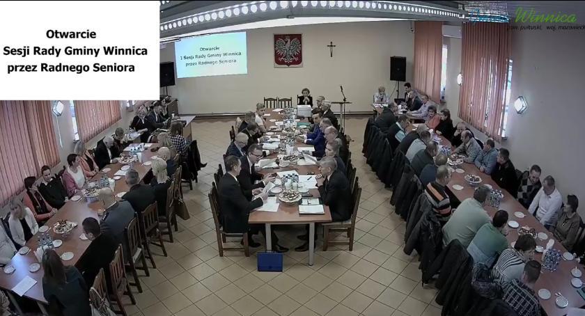 Samorząd, Sesja Gminy Winnica transmisja żywo - zdjęcie, fotografia