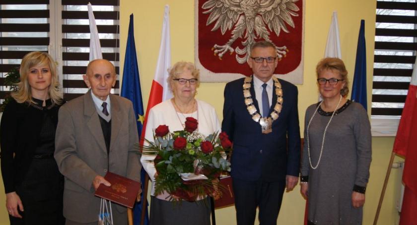 Seniorzy, Złote Diamentowe wPokrzywnicy - zdjęcie, fotografia