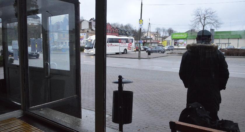 Samorząd, Tymczasowy pawilon podróżnych - zdjęcie, fotografia