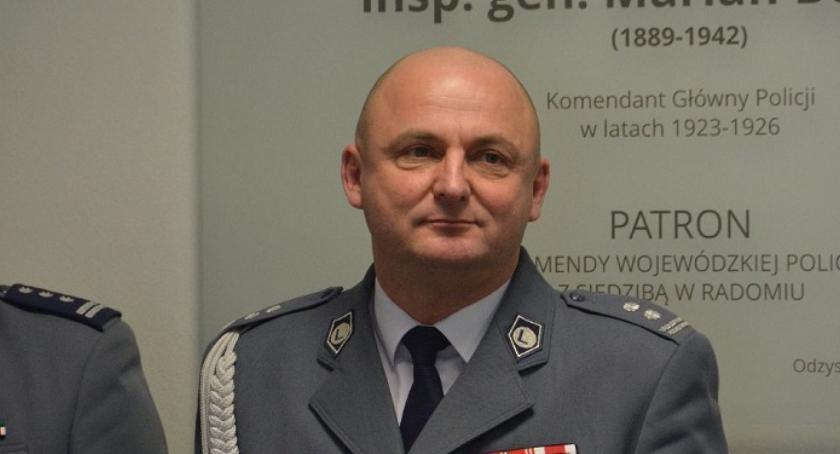 Policja, Zbigniew Mikołajczyk Zastępcą Komendanta Wojewódzkiego Policji Radomiu - zdjęcie, fotografia