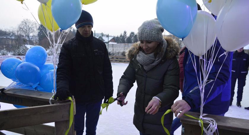 Wydarzenia, Otwarcie pułtuskiego lodowiska - zdjęcie, fotografia