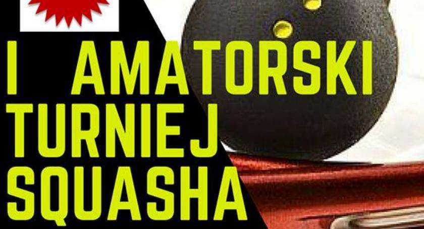 Wydarzenia, Semiramida zaprasza Amatorski Turniej Squasha - zdjęcie, fotografia