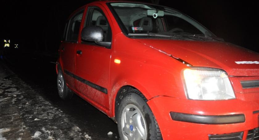 Policja, Śmiertelne potrącenie pieszego Słończewie - zdjęcie, fotografia