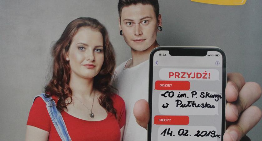 Pomoc społeczna, #KOMÓRKOMANIA Skardze - zdjęcie, fotografia