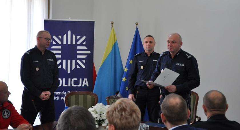 Policja, Odprawa roczna pułtuskich policjantów - zdjęcie, fotografia