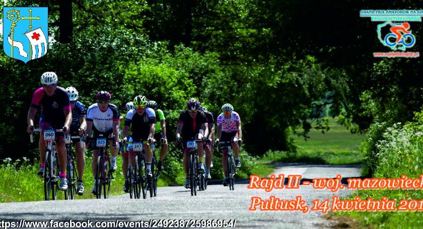 Społeczeństwo, Ogólnopolski rowerowy kwietnia Pułtusku - zdjęcie, fotografia