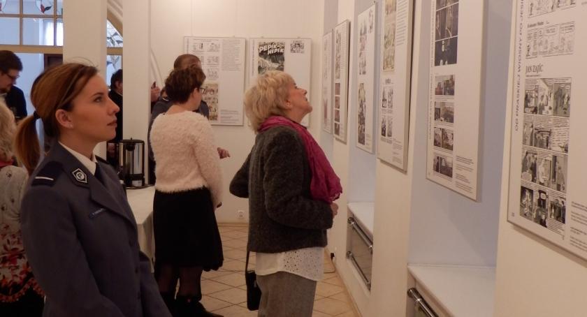 Wystawy, Wystawa stulecie czeskiego komiksu - zdjęcie, fotografia