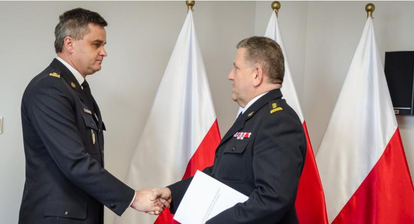 Straż Pożarna, Stanisław Brzozowski zastępcy komendanta Pułtusku - zdjęcie, fotografia