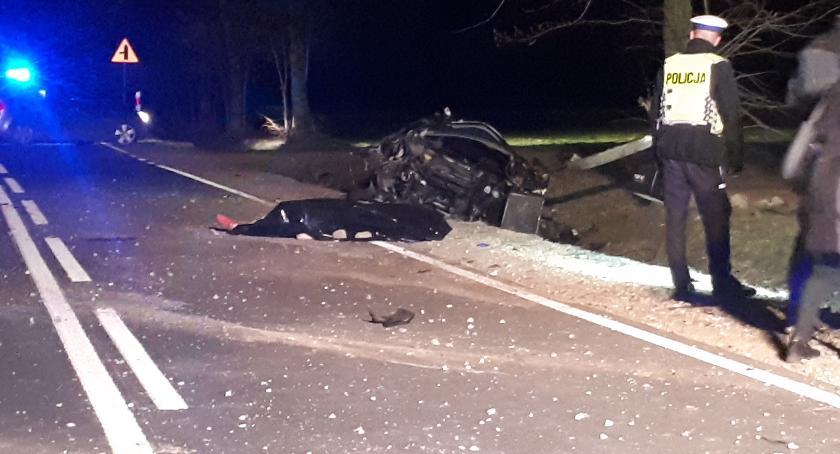 Wypadki drogowe , Tragiczny wypadek Winnicy - zdjęcie, fotografia