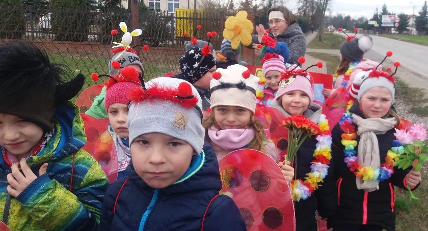 Przedszkola, Samorządowe Przedszkole Winnicy wiosnę - zdjęcie, fotografia
