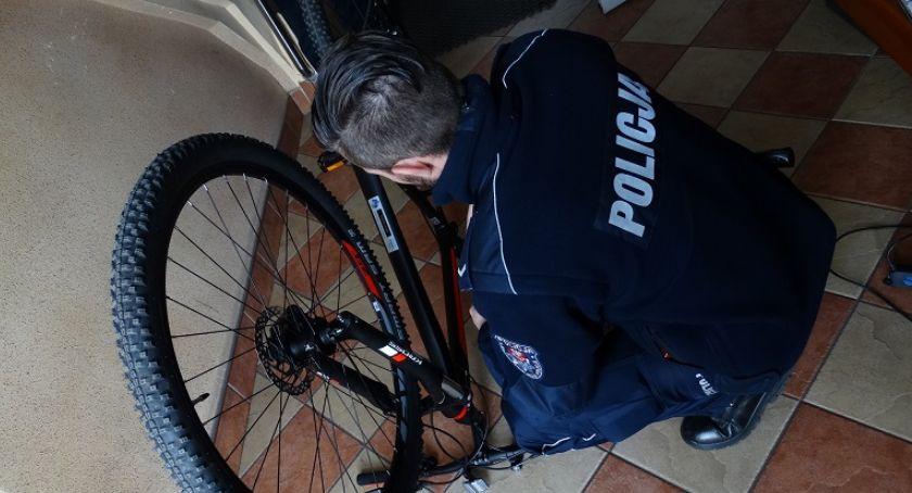 Komunikaty policji, Oznakuj swój rower - zdjęcie, fotografia