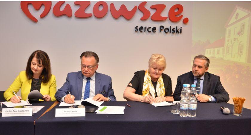 Miasto, Dofinansowanie przebudowę dróg gminnych Głodowo Przemiarowo - zdjęcie, fotografia