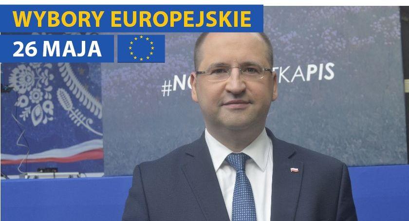 Wybory, Europa przesuwa prawo wywiad Adamem Bielanem - zdjęcie, fotografia