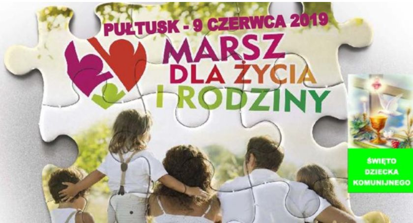 Zaproszenia, Marsz Życia Rodziny ZAPROSZENIE - zdjęcie, fotografia
