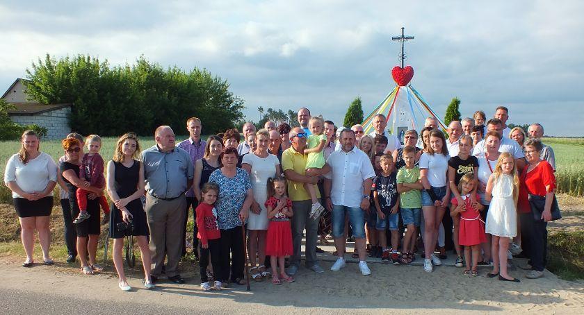 Wydarzenia, Piękny jubileusz kapliczki Klaskach - zdjęcie, fotografia