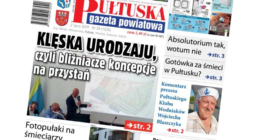 W aktualnym numerze PGP, jutrzejszym numerze Pułtuskiej - zdjęcie, fotografia