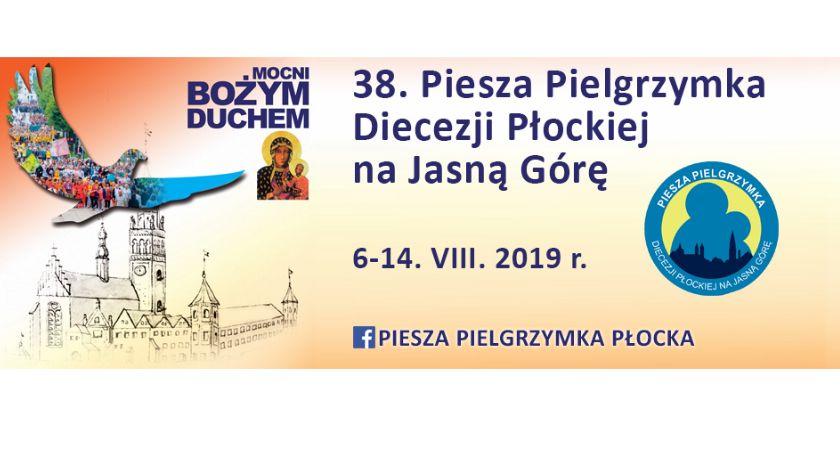 Zaproszenia, Piesza Pielgrzymka Płocka Jasną Górę - zdjęcie, fotografia
