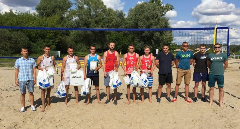Siatkówka, Pułtuski Turniej Siatkówki Plażowej - zdjęcie, fotografia