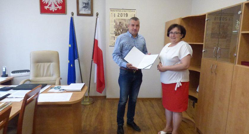 Edukacja, Agnieszka dyrektorem Obrytem - zdjęcie, fotografia