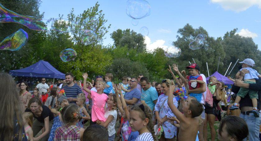 Wydarzenia, Festiwal Baniek Mydlanych Kolor - zdjęcie, fotografia