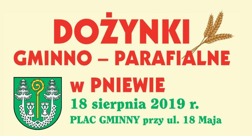 Zaproszenia, Dożynki gminy Zatory Pniewie niedzielę ZAPROSZENIE - zdjęcie, fotografia