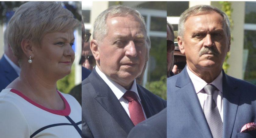 Wybory, Troje kandydatów naszego powiatu - zdjęcie, fotografia