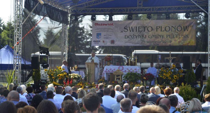 Wydarzenia, Dożynki gminy Pułtusk FOTOGALERIA - zdjęcie, fotografia