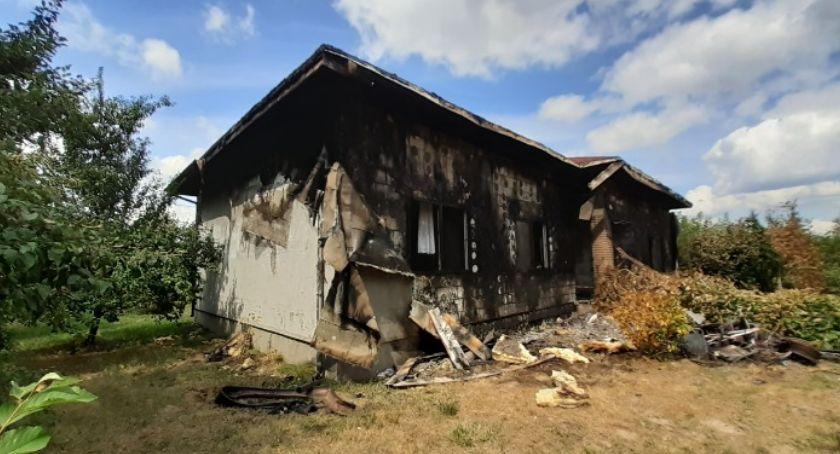 Pomoc społeczna, Każda wpłacona złotówka nadzieję potrzebna pomoc pokrzywdzonych pożarze - zdjęcie, fotografia