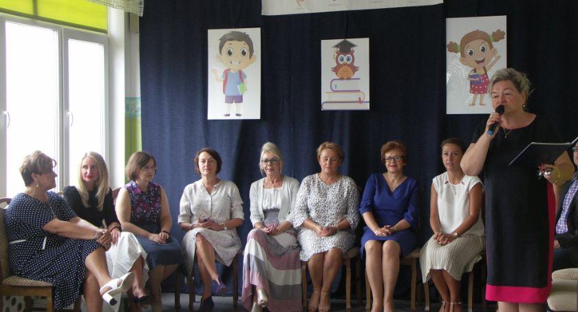 Edukacja, Powitania pożegnania Płocochowie - zdjęcie, fotografia