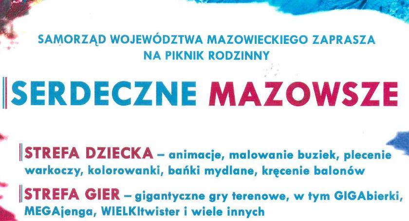 """Wydarzenia, Piknik rodzinny """"Serdeczne Mazowsze"""" Ciechanowie - zdjęcie, fotografia"""