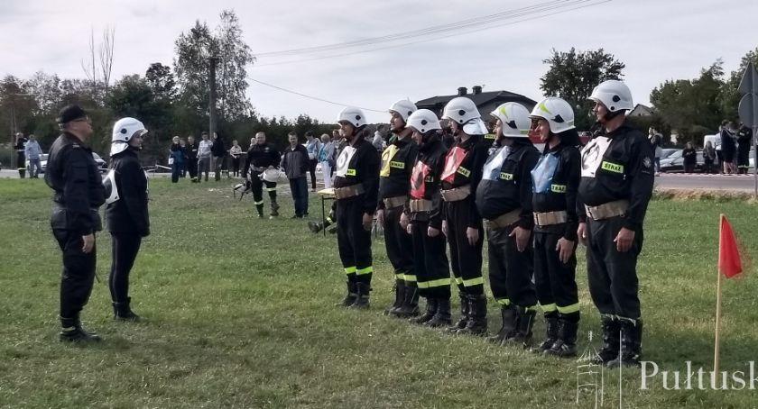 Straż Pożarna, Zawody sportowo pożarnicze Płocochowie - zdjęcie, fotografia