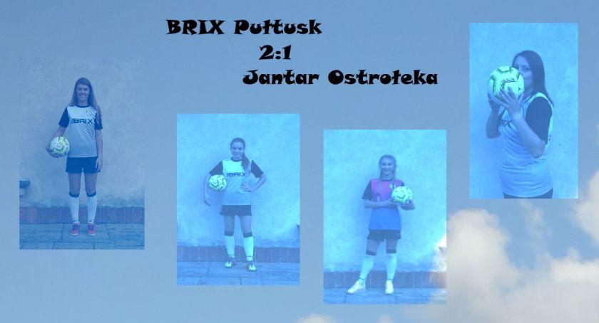 Piłka nożna, Pułtusk nadal zwycięskiej drodze - zdjęcie, fotografia
