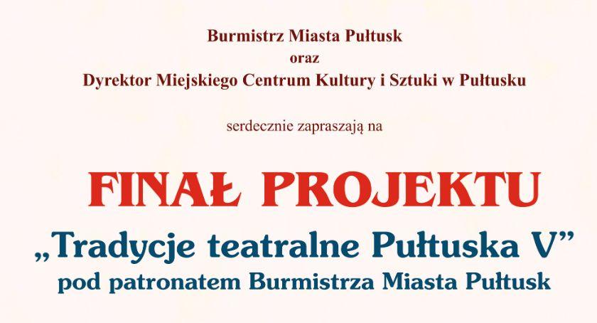 Zaproszenia, Finał teatralnego projektu jutro - zdjęcie, fotografia