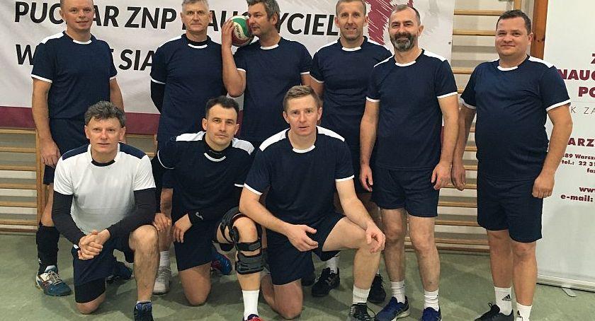 Siatkówka, Trzeci Polsce Ogólnopolski Puchar Nauczycieli - zdjęcie, fotografia