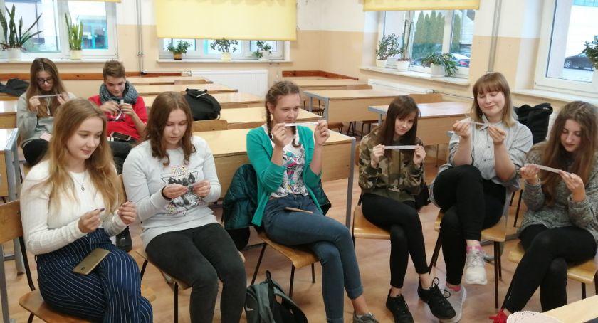 Szkoły powiatowe, Nietypowa lekcja języka rosyjskiego Ruszkowskim - zdjęcie, fotografia