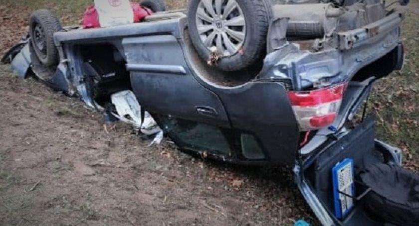 Wypadki drogowe , informacje sprawie wypadku Gzowie - zdjęcie, fotografia