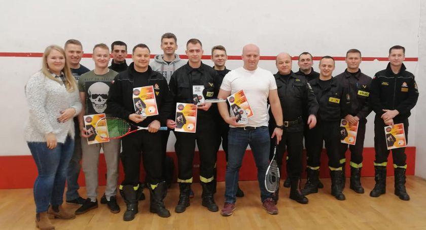 Wydarzenia, Turniej SQUASHA Puchar Komendanta Straży Pożarnej Pułtusku - zdjęcie, fotografia