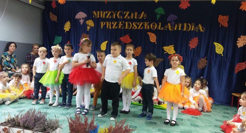 """Przedszkola, """"Muzyczna Przedszkolandia"""" miejskiej Czwórce - zdjęcie, fotografia"""