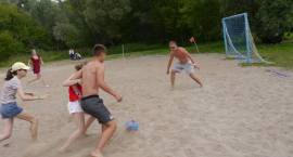Turniej plażowej piłki nożnej
