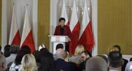 Premier Beata Szydło spotkała się z Repatriantami